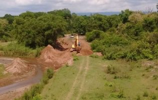 DPV | Encauce del Río Tajamar (ruta 304)
