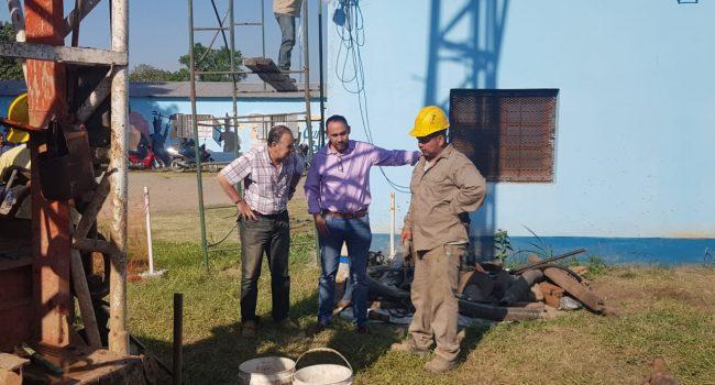 SePAPyS | Trabajos de mejoras en la municipalidad de Alderetes