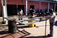 Construcciones Escolares   Trabajos de mantenimiento en la ESc. Luis Pasteur