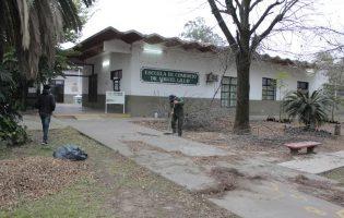 Construcciones Escolares | Trabajos de mejoras en la Escuela de Comercio Miguel Lillo, de Yerba Buena