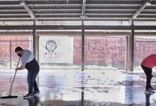 Construcciones Escolares | Tareas de mantenimiento en la Escuela Emilio Castelar
