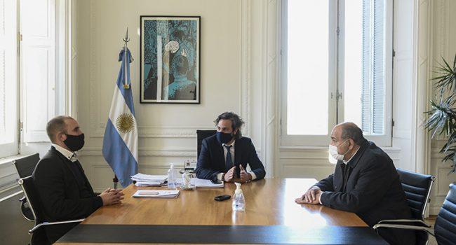 Economia | Manzur analizó con Cafiero y Guzmán el impacto del acuerdo alcanzado con bonistas