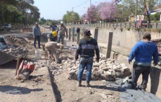 DPA   Limpian y arreglan canales para evitar problemas con las lluvias
