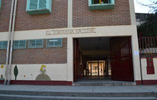 Construcciones escolares   Se realizaron trabajos en la Esc. Soberanía Nacional