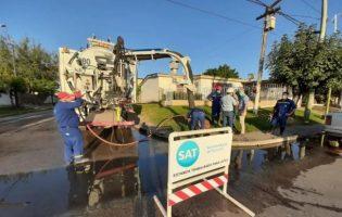 SAT   Avanzan las obras de agua y cloacas